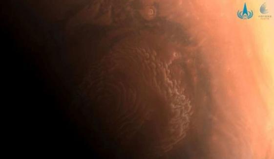 چین نے مریخ کی ہائی ریزولوشن تصاویر جاری کردیں