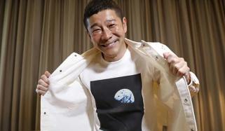 ارب پتی جاپانی 8 افراد کو چاند کی سیر کرائے گا