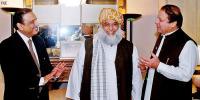 زرداری کا مولانا، نواز شریف سے اظہار تشکر