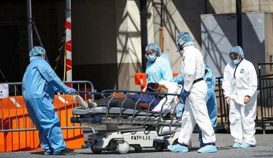 امریکا میں کورونا وائرس کے نئے کیسز میں کمی