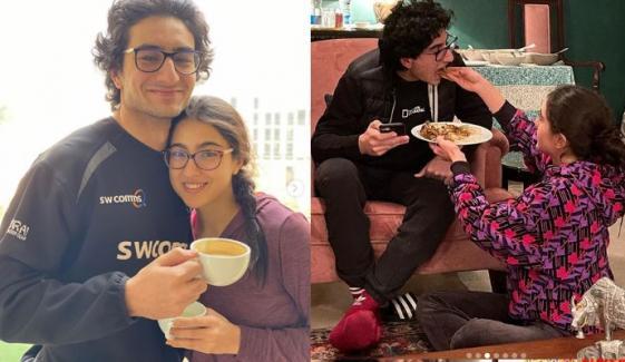 بھائی کی سالگرہ پر سارہ علی خان کے اہم وعدے