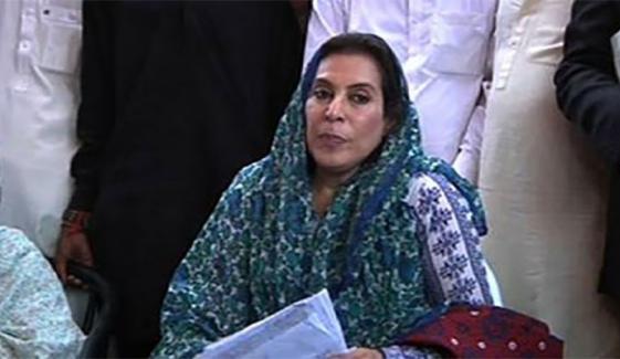وفاقی وزیر فہمیدہ مرزا کا تحفظات کا اظہار