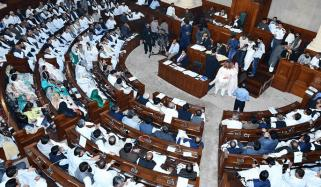 پنجاب اسمبلی،  اعتماد کا ووٹ لینے پر بحث