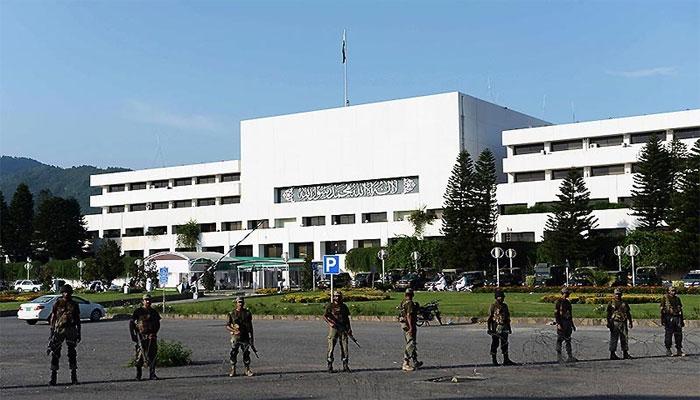 اعتماد کا ووٹ: پارلیمنٹ ہاؤس پر سخت سیکیورٹی