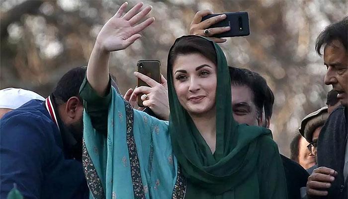 پاکستانی ٹرمپ نے خود کو بچانے کی کوشش کی ہے: مریم نواز