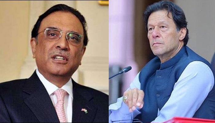 عمران خان سیاسی شکست پر بوکھلاہٹ کا شکار ہوچکے، آصف زرداری
