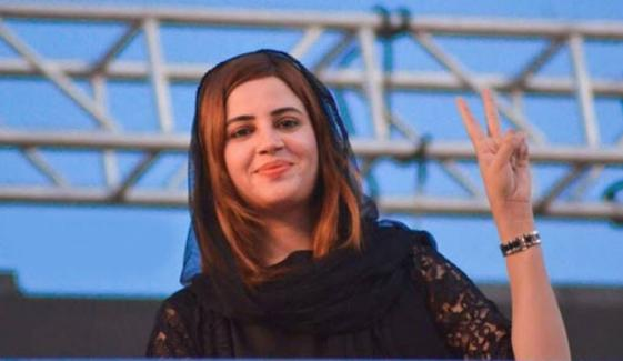 آج پتہ چل جائے گا عمران خان کیساتھ کون ہے: زرتاج گل