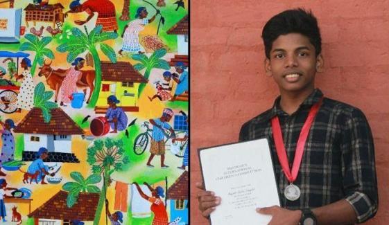 والدہ کی وفات پر بھارتی نوجوان کا زبردست خراج عقیدت
