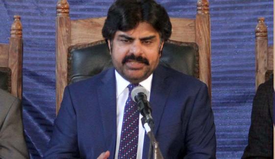 خان صاحب! اعتماد کے ووٹ کا ڈرامہ چھوڑیں اور گھر جائیں، سید ناصر حسین شاہ