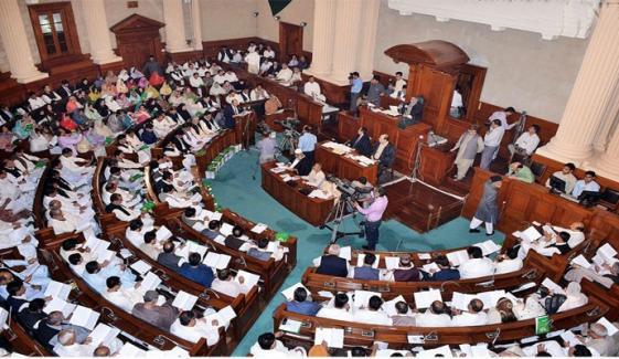 پنجاب اسمبلی: نون لیگی رہنماؤں پر حملے کیخلاف قرارداد جمع