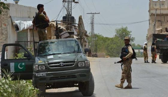 سیکیورٹی فورسز نے 8 دہشت گرد ہلاک کردیے
