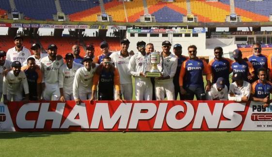 بھارت نے انگلینڈ کو آخری ٹیسٹ میں بھی شکست دے دی
