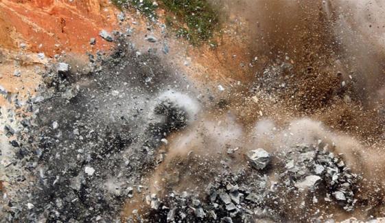 گھوٹکی میں دھماکا، 4 افراد زخمی