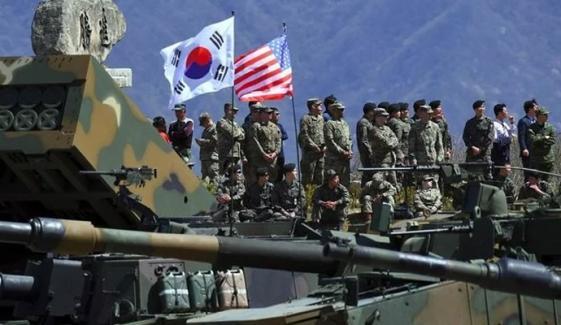 امریکا، جنوبی کوریا کی سالانہ فوجی مشقوں کا آغاز کل ہوگا
