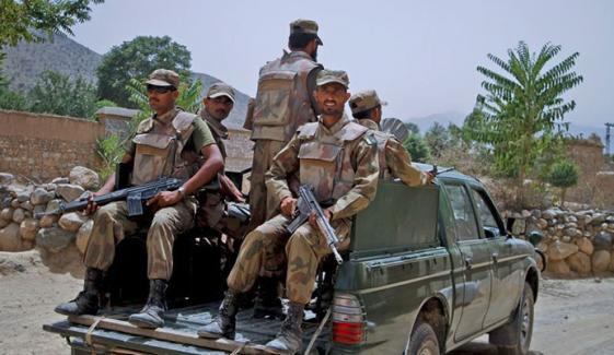 سیکیورٹی فورسز نے  آپریشنز میں 4 دہشت گرد ہلاک کردیے، آئی ایس پی آر