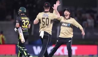 نیوزی لینڈ نے آسٹریلیا کیخلاف T20 سیریز تین دو سے جیت لی
