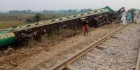 ریل حادثہ: 15 ٹرینیں تاخیر کا شکار