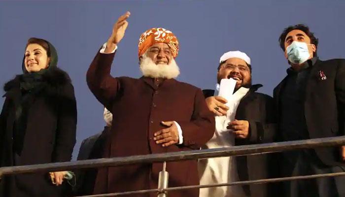 پی ڈی ایم اجلاس، 26 مارچ کو کراچی سے لانگ مارچ کے آغاز پر غور