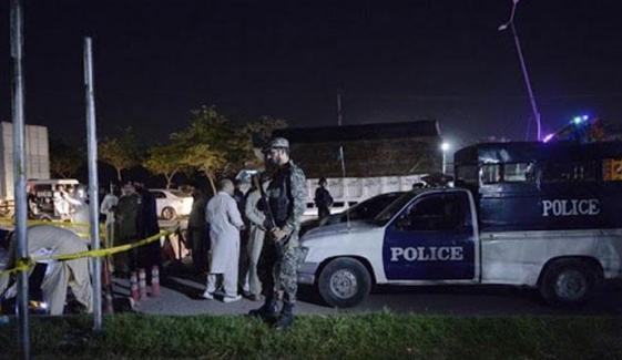 اسلام آباد، شہید پولیس اہلکار کی نماز جنازہ ادا کردی گئی