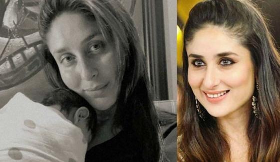 کرینہ کپور نے دوسرے بیٹے کی پہلی جھلک دکھا دی