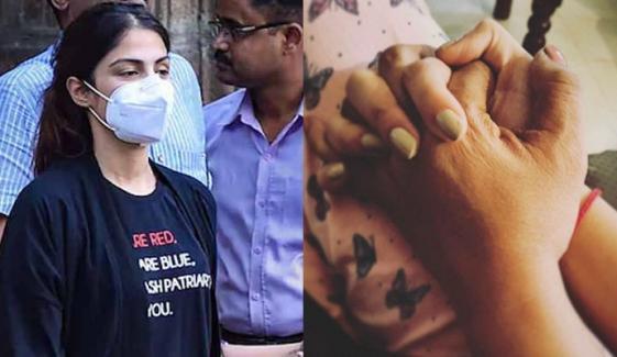 ریا چکروتی کی سوشل میڈیا پر واپسی