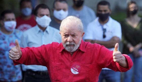 برازیل کےسابق صدر ڈی سلوا کو الیکشن لڑنےکی اجازت