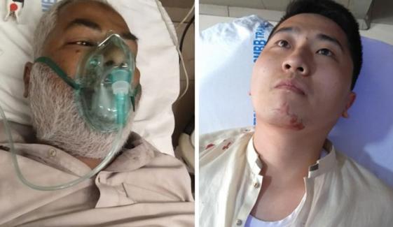 لیاری، فائرنگ سے چینی شہری سمیت 2 افراد زخمی