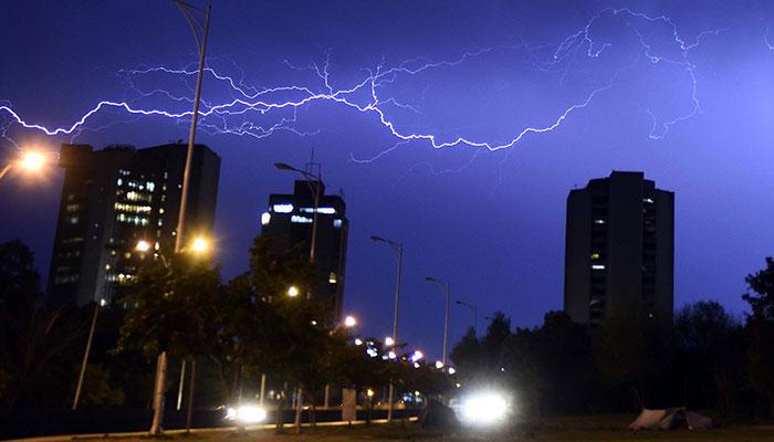 اسلام آباد، پنجاب اورخیبرپختونخوا کےمختلف شہروں میں بارش