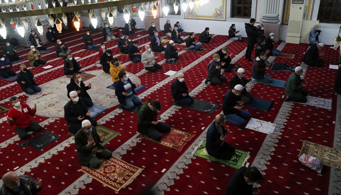 تر کی، مسجد آیا صوفیا میں کئی صديوں بعد شبِ معراج کی محفل