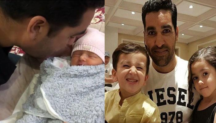 عمر گل کی بیٹی کی پہلی ویڈیو وائرل