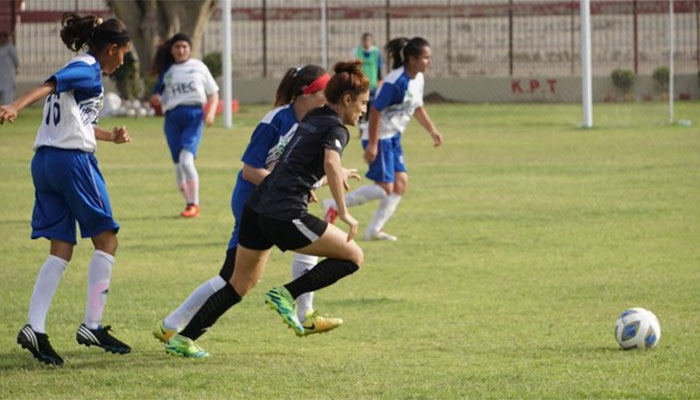 قومی وویمن فٹبال چیمپئن شپ ،کراچی یونائٹیڈ کی فتوحات کا سلسلہ جاری