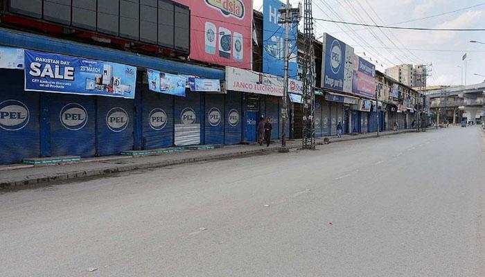 پشاور، مختلف مقامات میں مائیکرو اسمارٹ لاک ڈاؤن