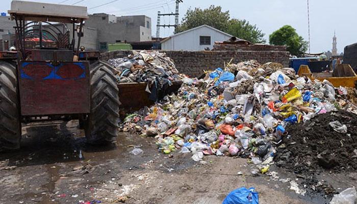 لاہور میں 6 دنوں میں 4 ہزار ٹن کچرا اٹھایا گیا