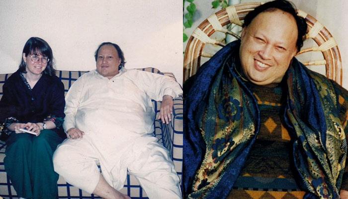 نصرت فتح علی خان کی یہ یادگار تصویر کب کی ہے؟