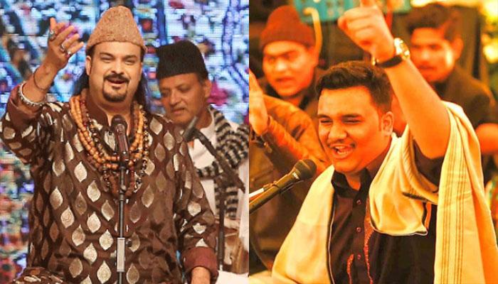 امجد صابری کے بیٹے والد کو کاپی کرنے لگے