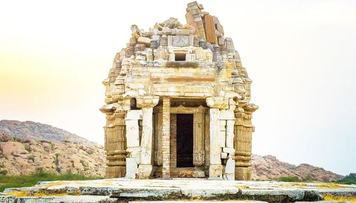 ''بھدیشر نگری یا بھوڈیسر'' کارونجھر پہاڑیوں کے دامن میں قدیم شہر