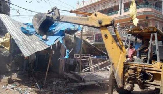 کراچی: غیرقانونی تجاوزات، ٹریبونل نے لیز مکانات گرانے سے روک دیا