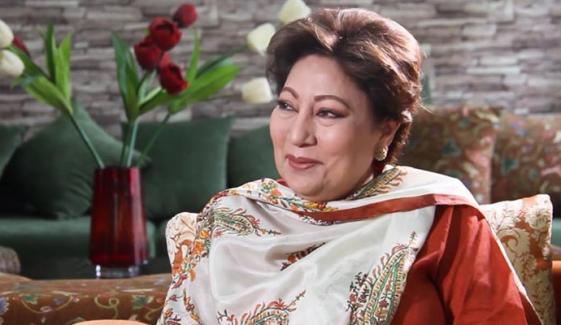 پاکستان ٹیلی ویژن کی پہلی خاتون میزبان کنول نصیر انتقال کر گئیں