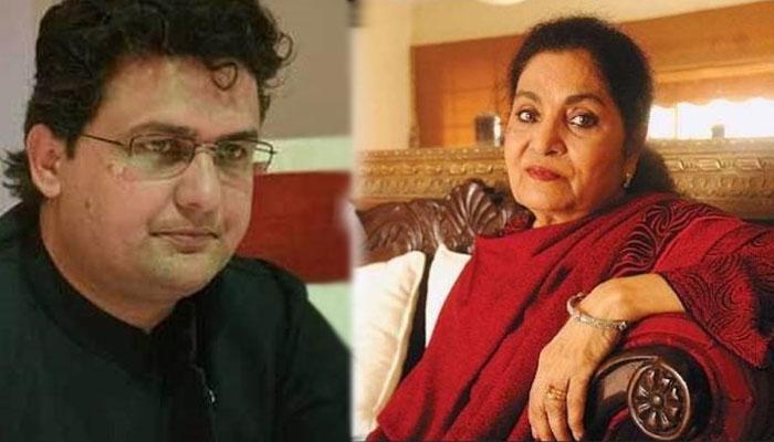 مرحومہ والدہ کی پسندیدہ مصنفہ حسینہ معین تھیں: سینیٹر فیصل جاوید
