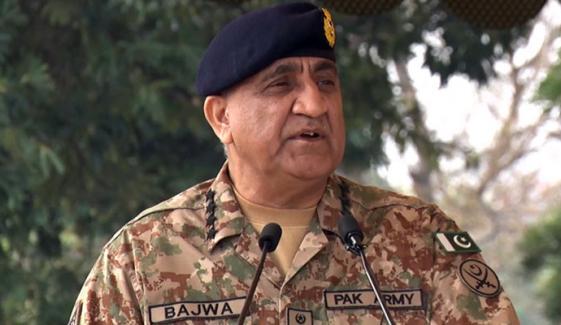 راولپنڈی: آرمی چیف جنرل قمر جاوید باجوہ کا لاجسٹک تنصیبات کا دورہ