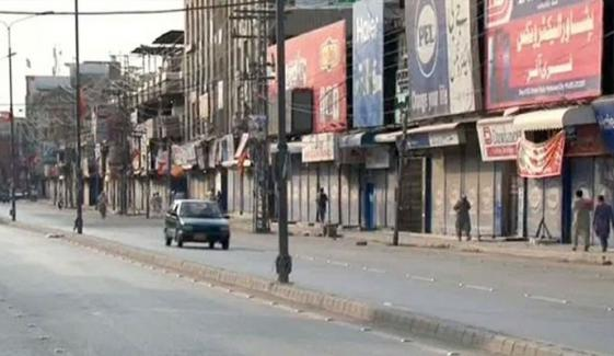 حکومت کا پنجاب میں مکمل لاک ڈاؤن پر غور