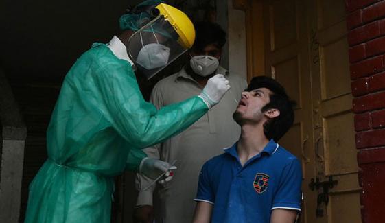 کورونا وائرس کے مثبت کیسز کی شرح 10.4فیصد ہوگئی، مزید 57 اموات