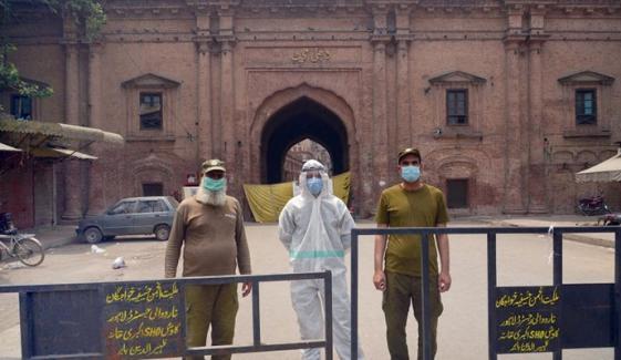لاہور میں مکمل لاک ڈاؤن پر غور ہو رہا ہے، فردوس عاشق اعوان