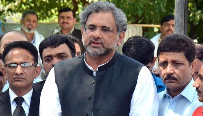 پیپلزپارٹی نے جو کیا وہ پارلیمانی اصولوں کے خلاف ہے، شاہد خاقان عباسی