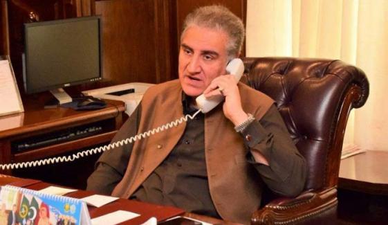 وزیر خارجہ کا سعودی ہم منصب فیصل بن فرحان سے رابطہ