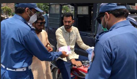 لاہور، ماسک نہ پہننے کاجرم قابل ضمانت ہے، پولیس