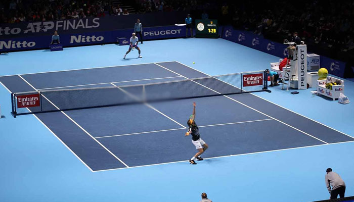 ٹینس کھلاڑیوں کو کوویڈ پروٹو کولز میں سہولت حاصل