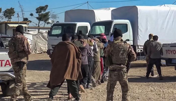 شمال مشرقی شام میں داعش کے 125 مشتبہ ارکان گرفتار