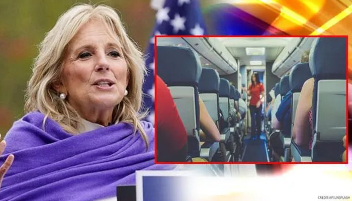 امریکی خاتونِ اول نے 'ایئرپوسٹس' بن کر سب کو بیوقوف بنا دیا
