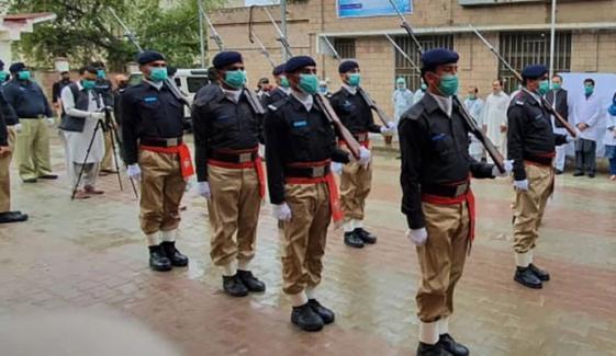 پولیس اسپتال کراچی افسران و اہلکاروں کیلئے فعال